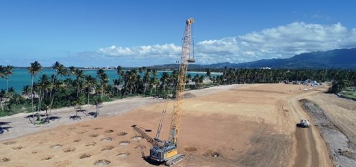 Densification Inc. uses Liebherr crane for residential construction