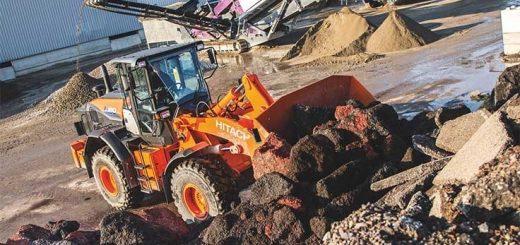 Hitachi debuts ZW180-6 loader