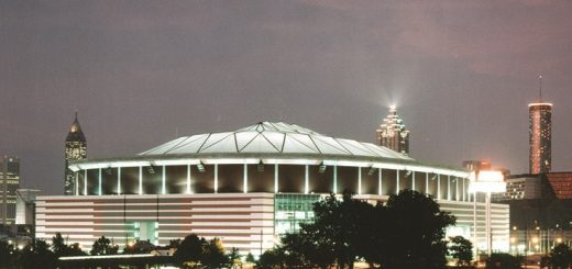 An icon deconstructed: The demolition of the Georgia Dome
